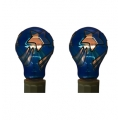Tiffany style hand-painted E27, 25W Replacement Bulb (Star - Twin Pack)*