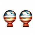 Tiffany style hand-painted Nightlight Replacement Bulb (US - Twin Pack)