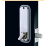 Fully Mechanical Push-button Hexagonal Handle Deadbolt