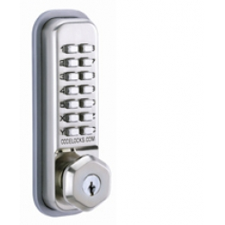 Fully Mechanical Push-button Hexagonal Handle entry