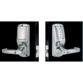 Heavy Duty Electronic Push-button LEVER entry w/ Back-to-Back Code Plates