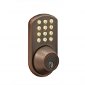 Keypad Deadbolt Lockset - Oil Rubbed Bronze finish