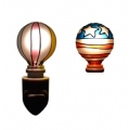 Tiffany style hand-painted Nightlight (Balloon - Combo Pack)