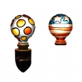 Tiffany style hand-painted Nightlight (Disco - Combo Pack)