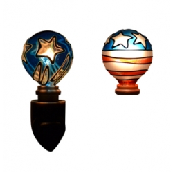 Tiffany style hand-painted Nightlight (Star - Combo Pack)