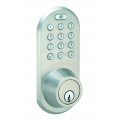 Keypad & RF Remote Control Deadbolt lockset - Satin Nickel Finish