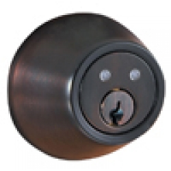 RF Remote Deadbolt Lockset - Oil-Rubbed Bronze Finish