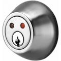 RF Remote Deadbolt Lockset - Satin Nickel Finish
